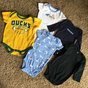 3-6 month baby boy lot carters children's place